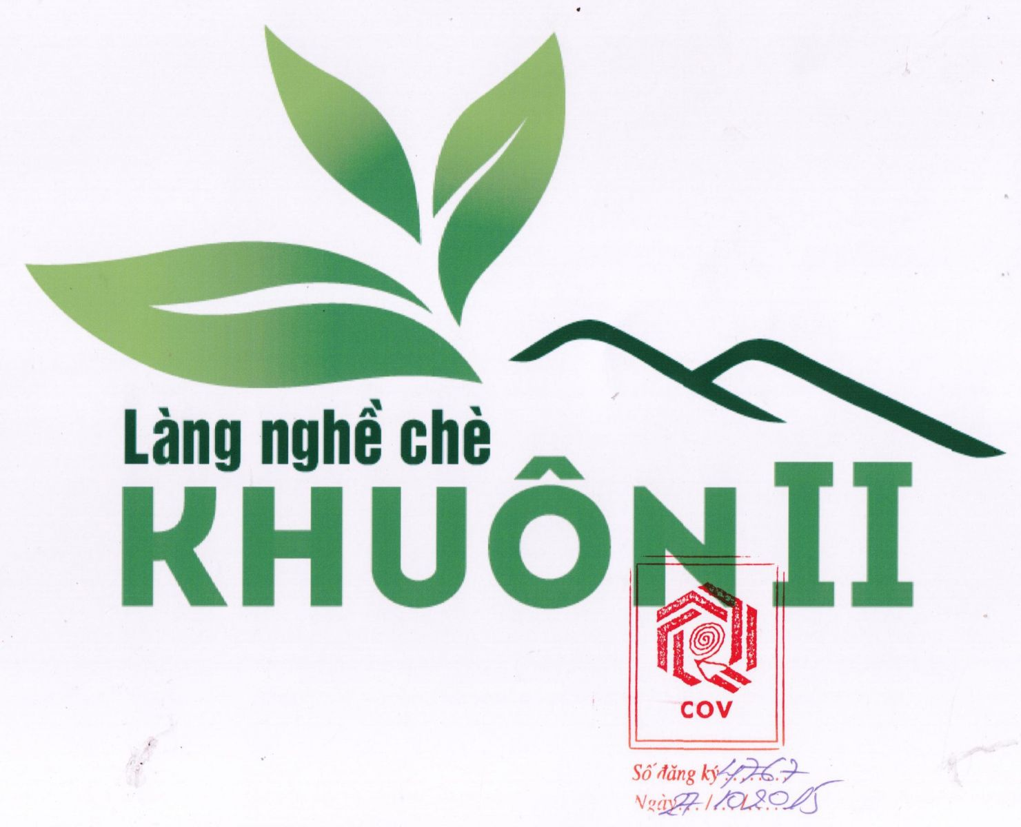 Protection Registration for LOGO of Thai Nguyen tea village