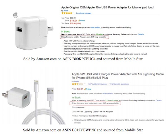 "Apple: 90% Of ""Apple"" Power Accessories Sold On Amazon Are Fake"